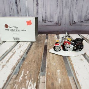 Department 56 54900 Davidson Fatboy and Softail Mo